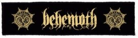 BEHEMOTH: Logo Superstrip (20 x 5 cm) (felvarró)