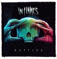IN FLAMES: Battles (95x95) (felvarró)