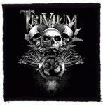 TRIVIUM: 3 Skulls (95x95) (felvarró)