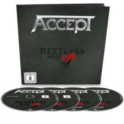ACCEPT: Restless And Live (earbook = Blu-ray+DVD+2CD)