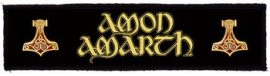 AMON AMARTH: Logo Superstrip (20 x 5 cm) (felvarró)