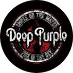 DEEP PURPLE: Smoke On The Water (circle, 95 mm) (felvarró)