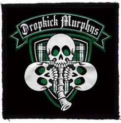DROPKICK MURPHYS: 3 Skulls (95x95) (felvarró)