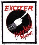 EXCITER: Heavy Metal Maniac (79x95) (felvarró)