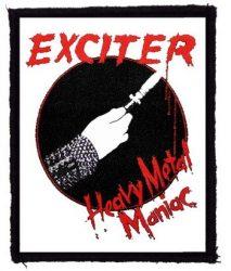 EXCITER: Heavy Metal Maniac (80x95) (felvarró)