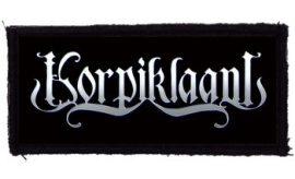 KORPIKLAANI: Logo (95x45) (felvarró)