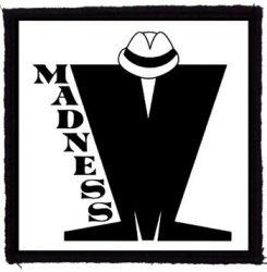 MADNESS: Logo (95x95) (felvarró)