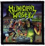MUNICIPAL WASTE: The Art Of Partying (95x95) (felvarró)