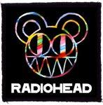 RADIOHEAD: Logo (95x95) (felvarró)