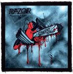 RAZOR: Violent Restitution (95x95) (felvarró)