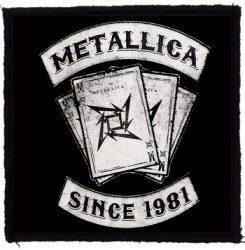 METALLICA: Since 1981 (95x95) (felvarró)