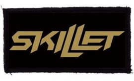 SKILLET: Logo (95x45) (felvarró)