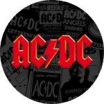 AC/DC: Logo Red (nagy jelvény, 3,7 cm)