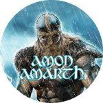 AMON AMARTH: Jomsviking (nagy jelvény, 3,7 cm)