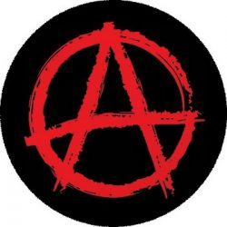 ANARCHY: Symbol (nagy jelvény, 3,7 cm)