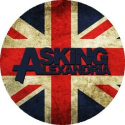 ASKING ALEXANDRIA: GB (nagy jelvény, 3,7 cm)