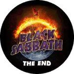 BLACK SABBATH: The End (nagy jelvény, 3,7 cm)