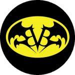 BLACK VEIL BRIDES: Bat (nagy jelvény, 3,7 cm)