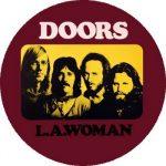 DOORS: LA Woman (nagy jelvény, 3,7 cm)