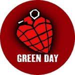 GREEN DAY: Grenade (nagy jelvény, 3,7 cm)