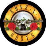 GUNS N' ROSES: Bullet (nagy jelvény, 3,7 cm)