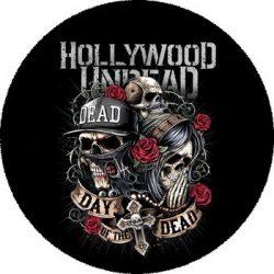 HOLLYWOOD UNDEAD: Day Of The Dead (nagy jelvény, 3,7 cm)