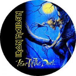 IRON MAIDEN: Fear Of The Dark (nagy jelvény, 3,7 cm)