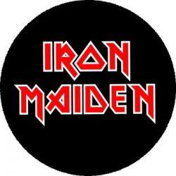 IRON MAIDEN: Logo (nagy jelvény, 3,7 cm)