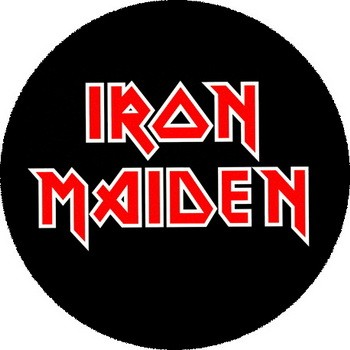 IRON MAIDEN Logo Nagy Jelveny 37 Cm