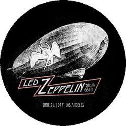LED ZEPPELIN: Los Angeles (nagy jelvény, 3,7 cm)