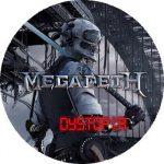 MEGADETH: Dystopia (nagy jelvény, 3,7 cm)