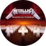 METALLICA: Master Of Puppets (nagy jelvény, 3,7 cm)