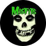 MISFITS: Skull (nagy jelvény, 3,7 cm)