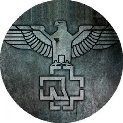 RAMMSTEIN: Eagle (nagy jelvény, 3,7 cm)
