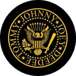 RAMONES: Logo (nagy jelvény, 3,7 cm)
