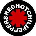 RED HOT CHILI P.: Logo (nagy jelvény, 3,7 cm)