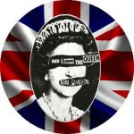 SEX PISTOLS: God Save The Queen (nagy jelvény, 3,7 cm)