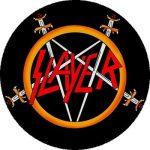 SLAYER: Logo Pentagram (nagy jelvény, 3,7 cm)