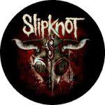 SLIPKNOT: Goat Skull (nagy jelvény, 3,7 cm)