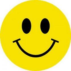 SMILEY (nagy jelvény, 3,7 cm)