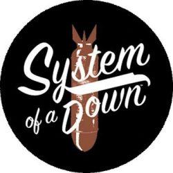 SYSTEM OF A DOWN: Bomb (nagy jelvény, 3,7 cm)