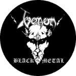VENOM: Black Metal (nagy jelvény, 3,7 cm)