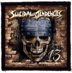 SUICIDAL TENDENCIES: 13 (95x95) (felvarró)
