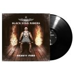 BLACK STAR RAIDERS: Heavy Fire (LP, black)