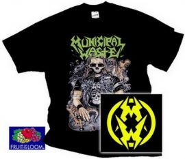 MUNICIPAL WASTE: Skateboard (póló)
