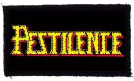 PESTILENCE: Logo (95x45) (felvarró)