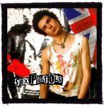 SEX PISTOLS: Sid (95x95) (felvarró)