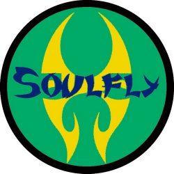 SOULFLY: Logo Circle (95x95) (felvarró)