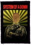 SYSTEM OF A DOWN: Soldier (65x95) (felvarró)