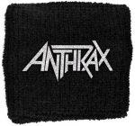 ANTHRAX: Logo (frottír csuklószorító)